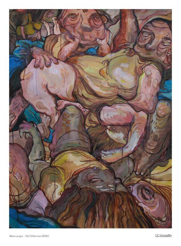 """Maria Langen, """"Die Chillerinnen"""", 2020"""